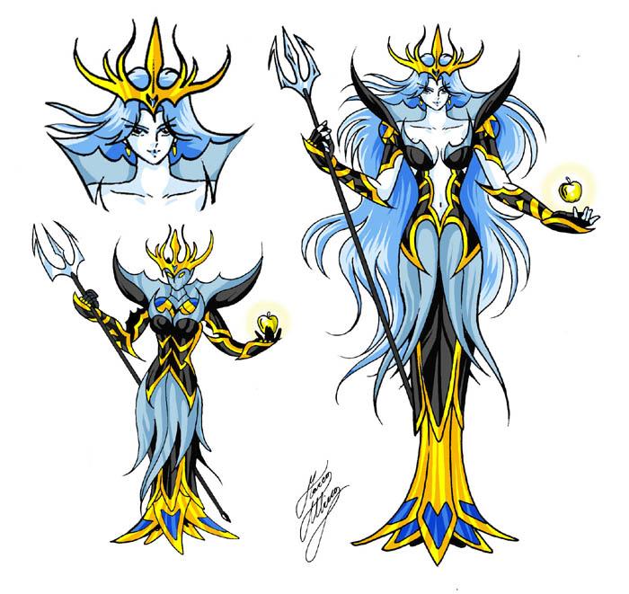 Saint Seiya - Armaduras Celestiales y Divinas HD